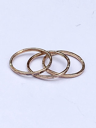 Trio Rings in Gold