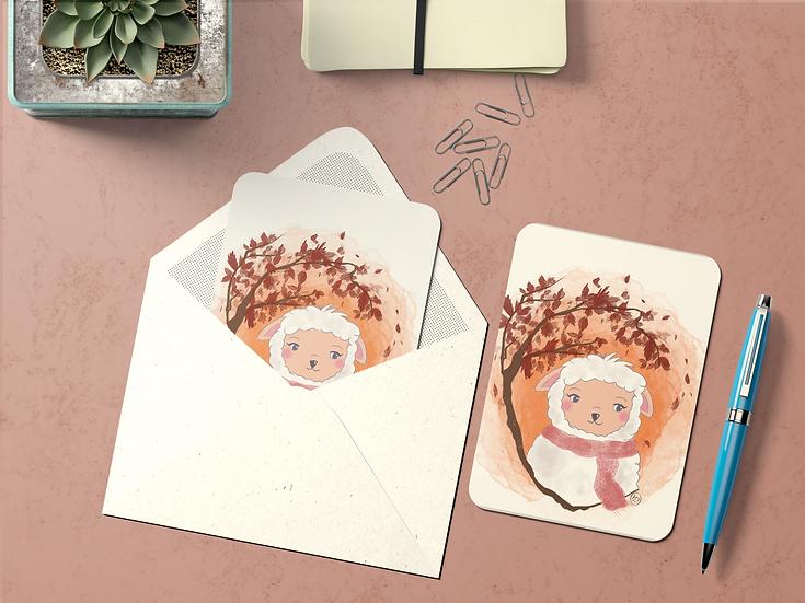 Carte Postale Animaux Laineux ~MOUTON