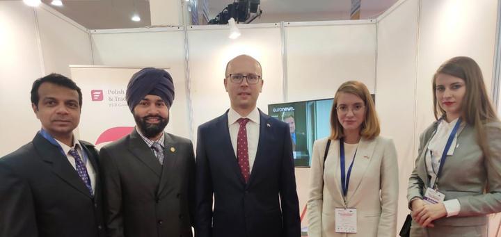 ICIB with Consul General of Poland in Mumbai