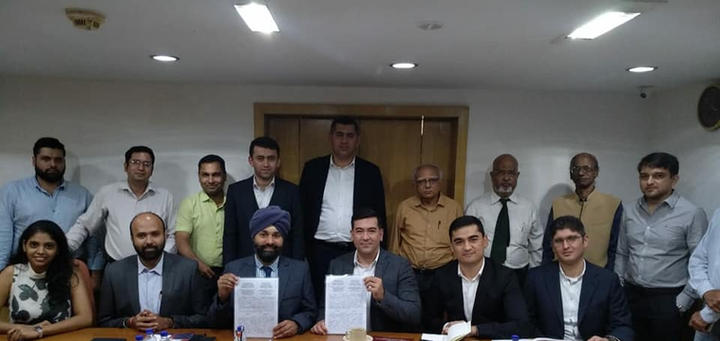 MOU with Turkish association