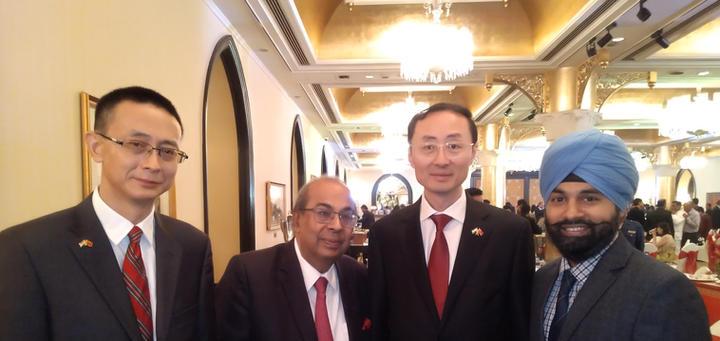 ICIB with Chinese Ambassador to India