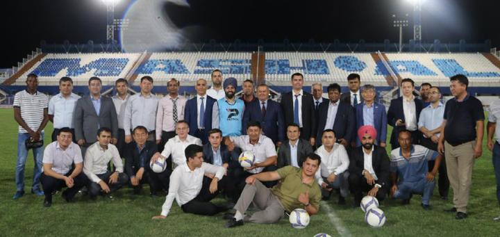 Friendly football match of Govt od Uzbekistan and ICIB members