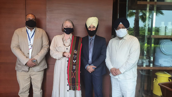 British Dy. High Commission at Chandigarh