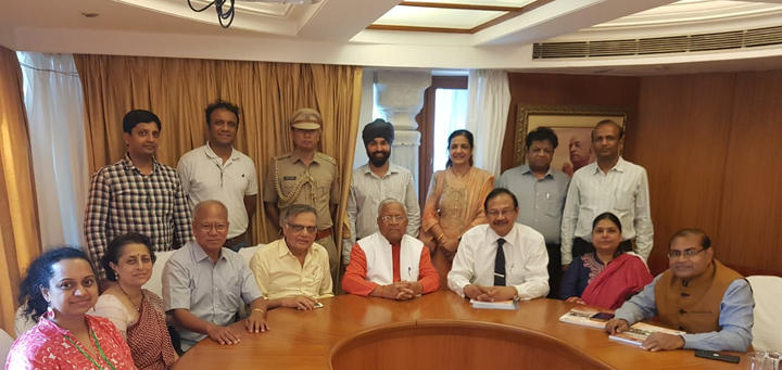 Members meeting with Hon. Governor of Nagaland