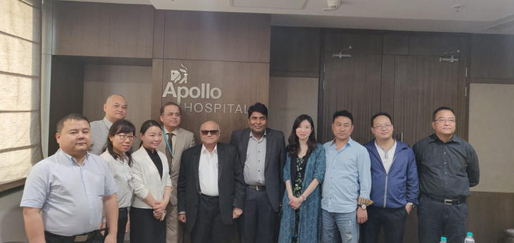 Chinese Medical delegation to India