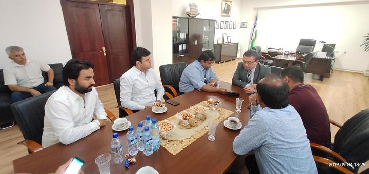 ICIB Meeting with Health ministry of Uzbekistan
