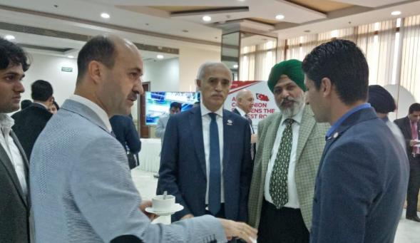 Turkish Delegation to India