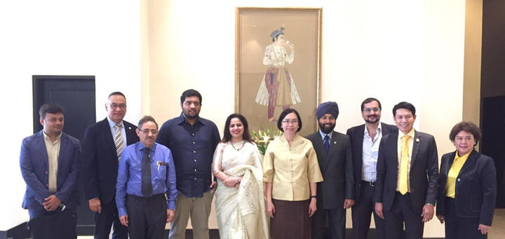 Meeting with Minister of Commerce, Thailand