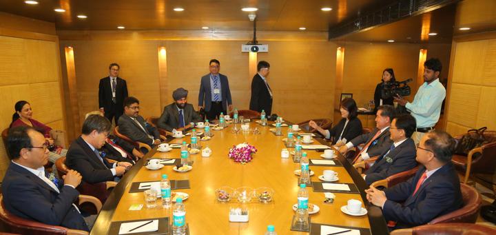 Meeting with Govt of Korea