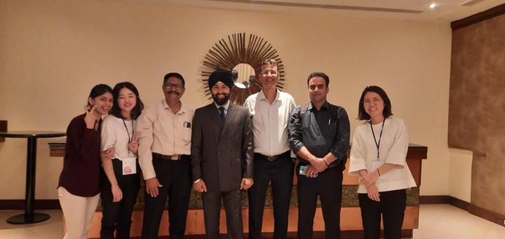 Korean Delegation with ICIB Members