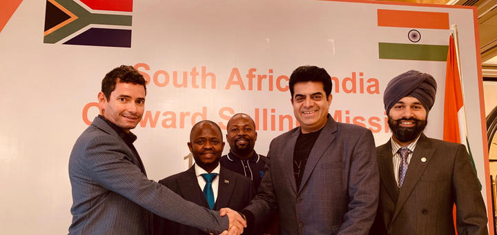 India South Africa collaboration