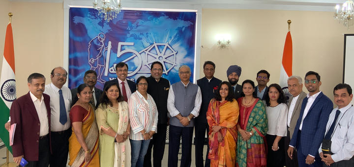 Joint delegation of ICIB & MACCIA
