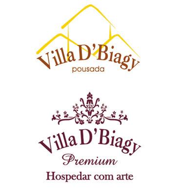 Logotipo Villa D'Biagy e Premium