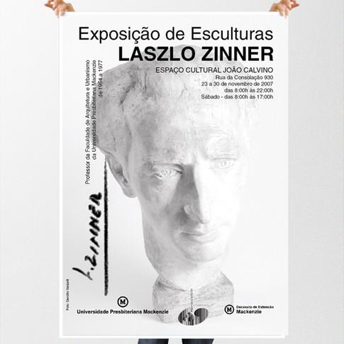 Poster Exposição Laszlo Zinner