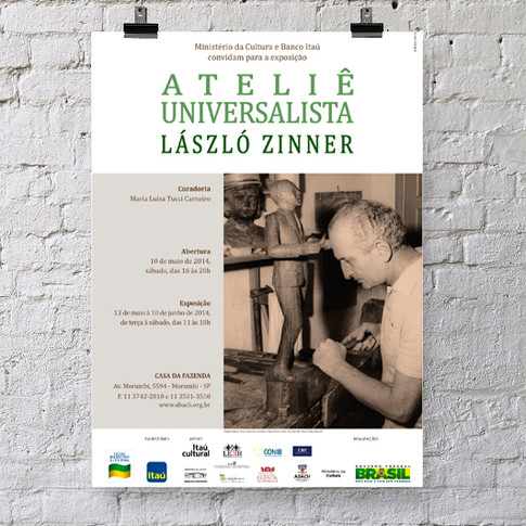 Poster Exposição Ateliê Universalista