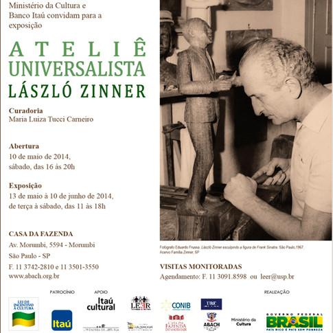 Convite Exposição Ateliê Universalista