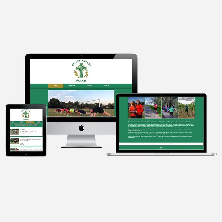 Website for Eirin's Celtic Fitness