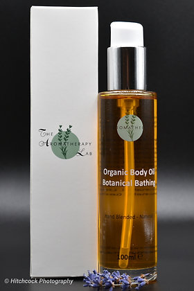 Organic Botanical Bathing Body Oil