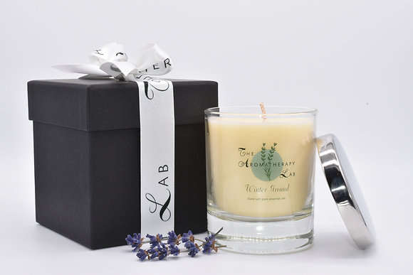 Winter Ground Candle