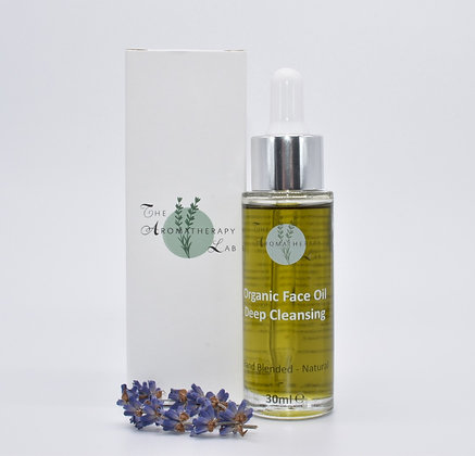 Organic Deep Cleansing Face Oil
