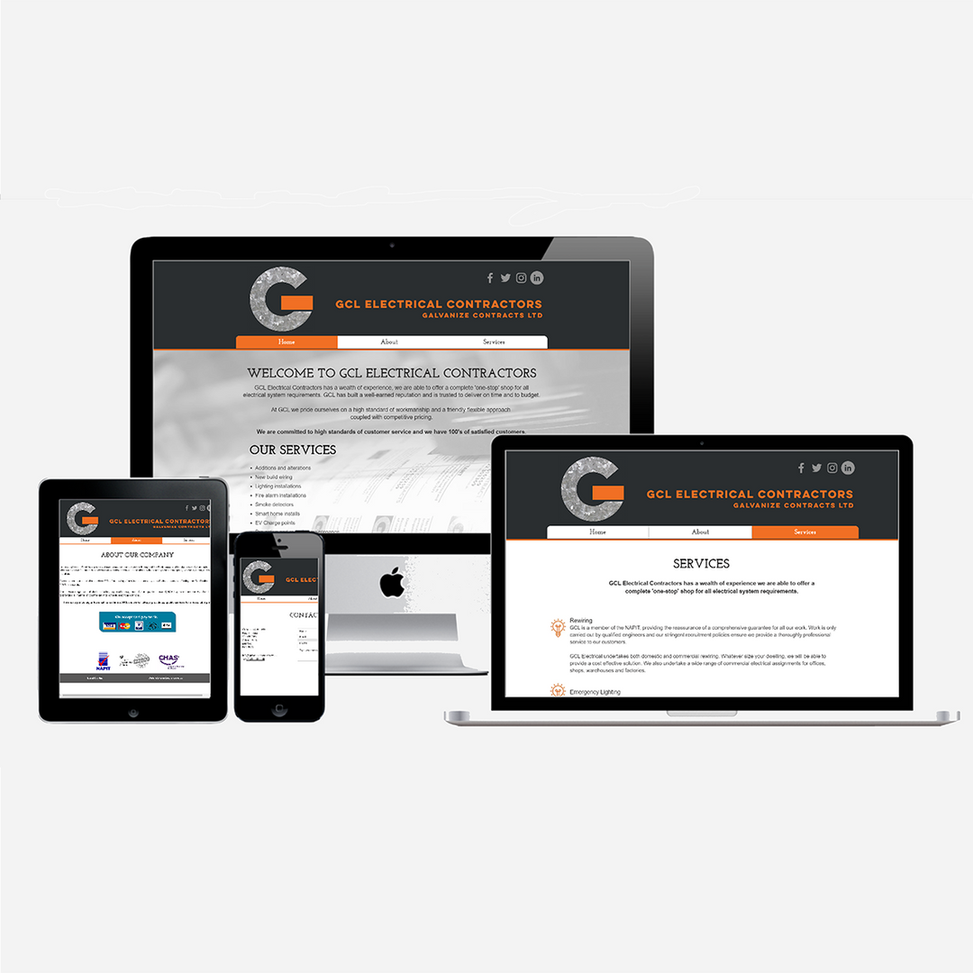 Website for GCL Electrical