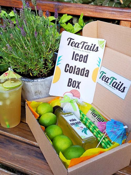 Iced Tea At Home: Colada Box