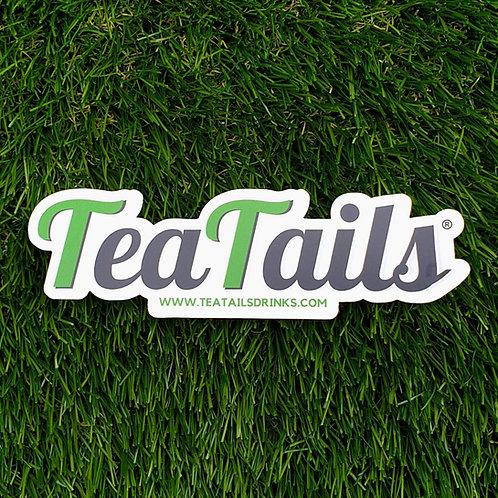 TeaTails Transparent Sticker