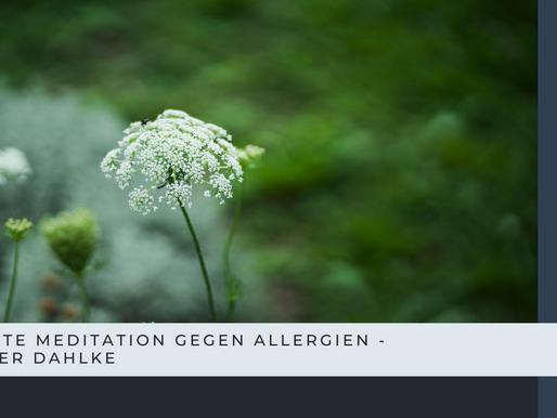 Geführte Meditation bei Allergien