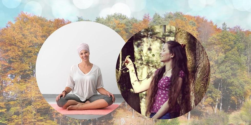 Räuchern und Yoga