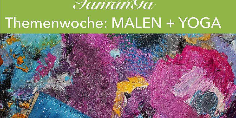 Themenwoche: MALEN & YOGA