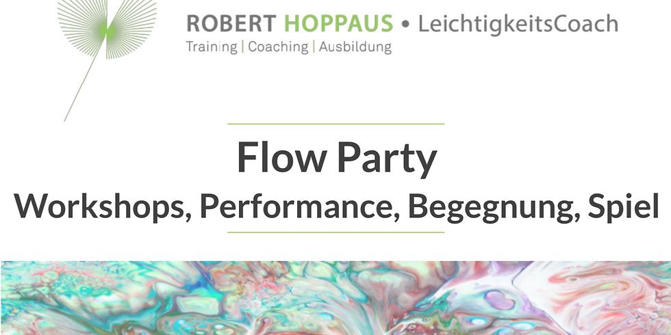 Flow-Party mit Robert Hoppaus