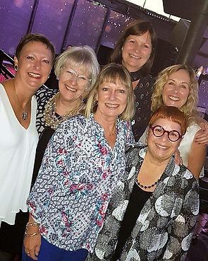 The Events Industry Council Hall of Leaders -- Carol Krugman, Carole McKellar,  Barbara Taylor Carpenter, Terri Breining, Tyra Warner