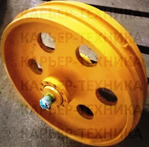 Колесо натяжное 1101-21-41СП (ленивец гусеницы) бульдозера ЧЕТРА Т-11