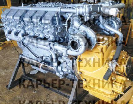 Двигатель ЯМЗ-240НМ2 бульдозера Т-330