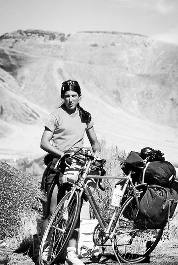 55 Miles From Yesterday, Jane Schapiro, biking, writing