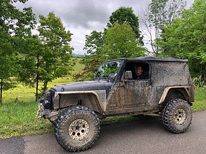 Daniel Boone Backcountry Byway Jeep