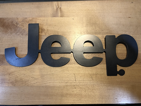 Jeep® Logo Plate