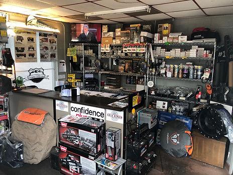 Jeep Parts Showroom