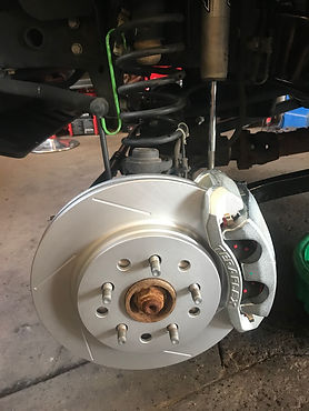 Jeep Wrangler Big Brake Kit