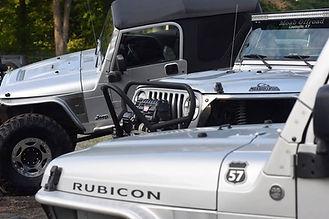 Jeep Wrangler Rubicon TJ Silver
