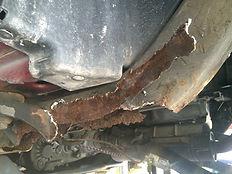 Jeep Frame Repair