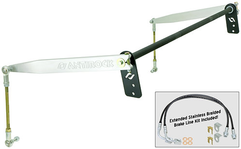 CE-9900JKRA - JK 2D Antirock® Rear Sway Bar Kit (Aluminum Arms)