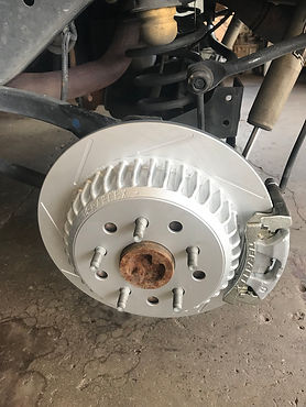 Jeep Wrangler Brake Upgrade