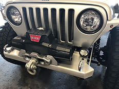 Genright Bumper Warn Winch