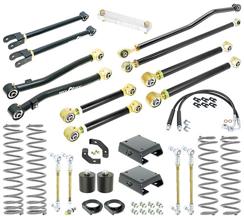 RJ-150001-101 RockJock Sport Edition 4-Inch JT Suspension Lift