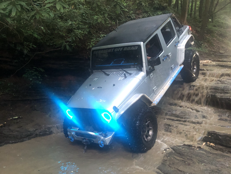 Louisville Voodoo Jeep Club Run to Red River Gorge