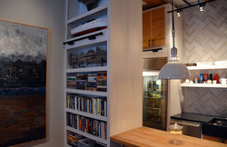PANTRY AND BOOKCASE