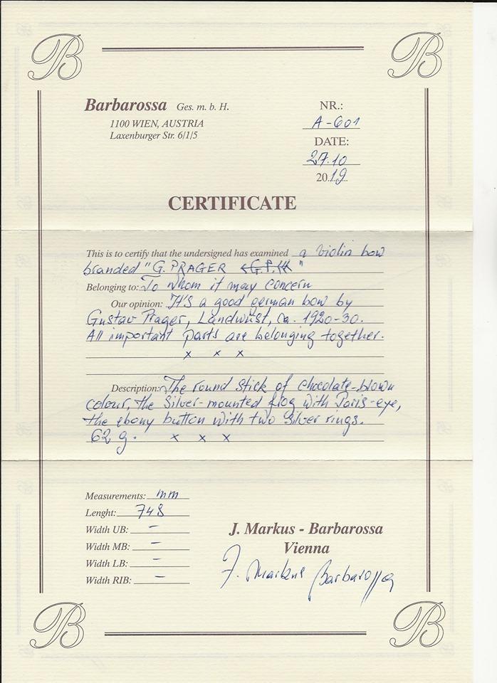Prager certifikat
