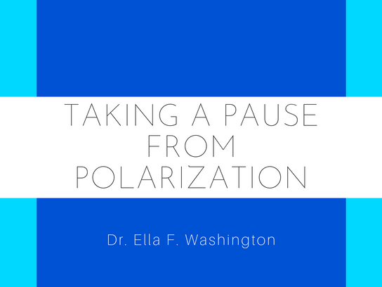 Taking a Pause From Polarization