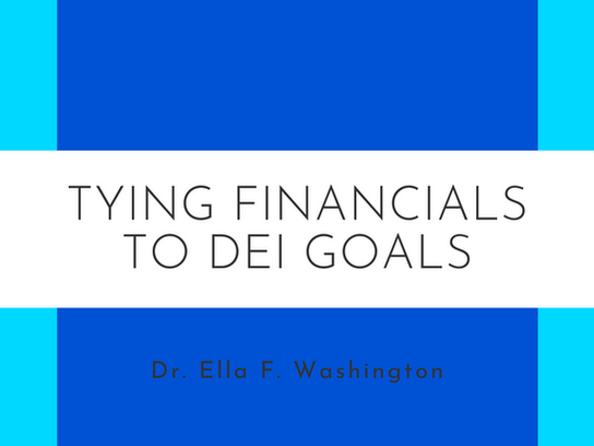 Tying Financials to DEI Goals